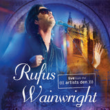 Rufus Wainwright 'Live From The Artists Den' Blu-Ray - Cover