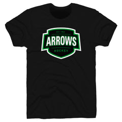 Arrows | Shield Tee - Black
