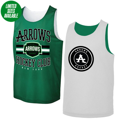 Arrows | Reversible Mesh Jersey Tank