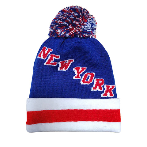 NEW YORK | Pom Knit Beanie