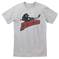 ENFORCERS | Fan Tee - Heather Grey
