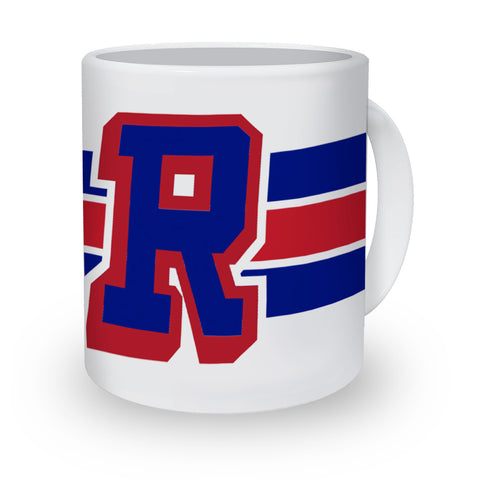 """R"" Ceramic Coffee Mug"
