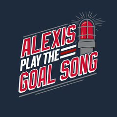 Alexis, Play the Goal Song | Men's Tee