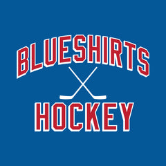 Blueshirts Hockey | Royal Adult Tee