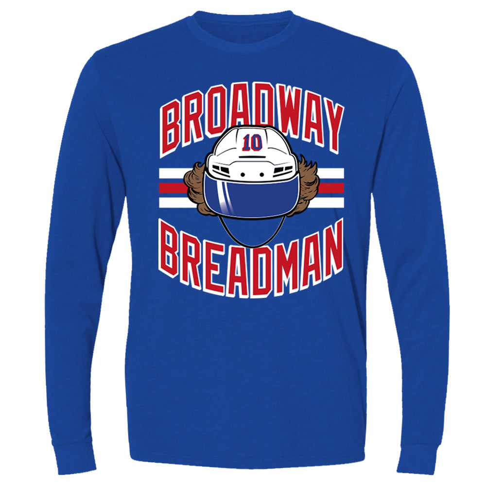 Broadway Breadman  | Long Sleeve Sueded Tee