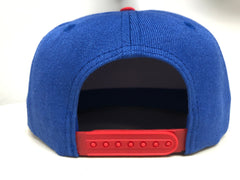 """R"" - Structured Snapback Cap"