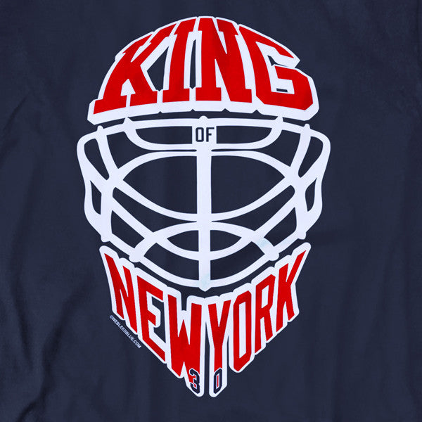 King of NY | Navy Men's Tee