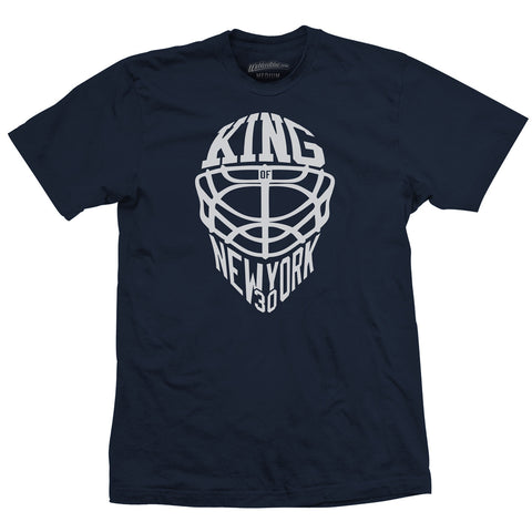 King of NY Classic Navy Tee
