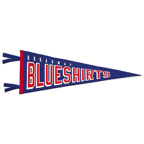We Bleed Blue x Oxford Pennant | Large Pennant