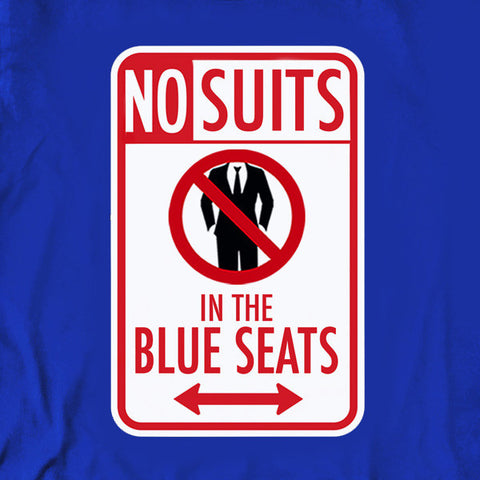 No Suits in the Blue Seats