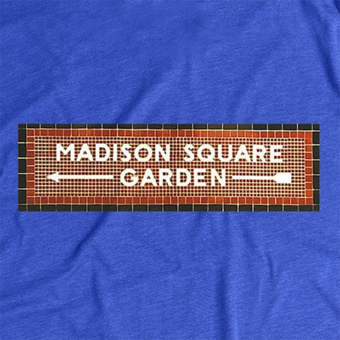 Madison Square Garden - Subway Tile Shirts Collab