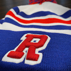 """R"" Embroidered Toque 