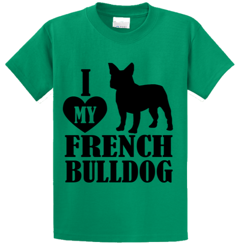 I Love French BullDog - Zapbest2  - 1