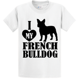 I Love French BullDog - Zapbest2  - 2