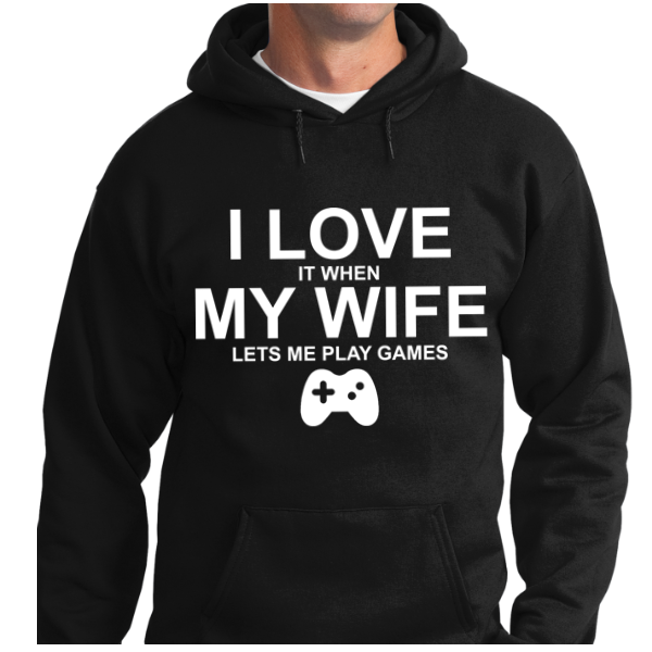 I Love When My Wife Lets Play Games - Zapbest2  - 5