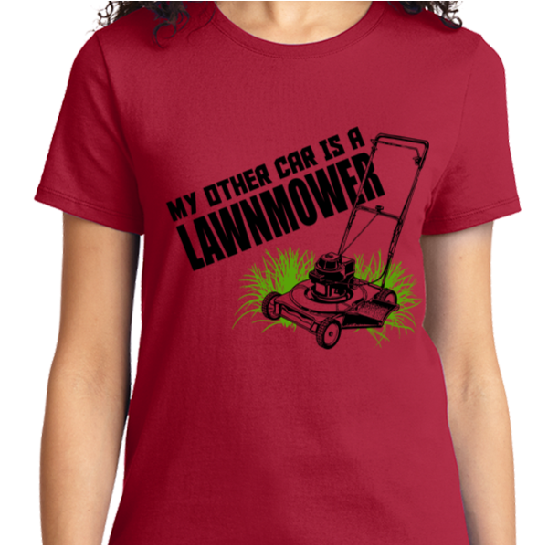 My Other Car Is A Lawn Mover - Zapbest2  - 10
