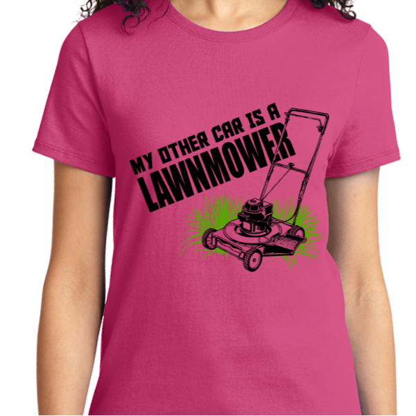 My Other Car Is A Lawn Mover - Zapbest2  - 12