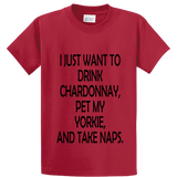 Drink Chardonnay Pet Yorke And Take Naps - Zapbest2  - 3