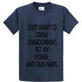 Drink Chardonnay Pet Yorke And Take Naps - Zapbest2  - 4
