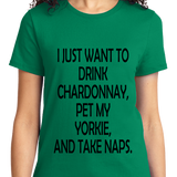 Drink Chardonnay Pet Yorke And Take Naps - Zapbest2  - 9