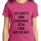 Drink Chardonnay Pet Yorke And Take Naps - Zapbest2  - 12