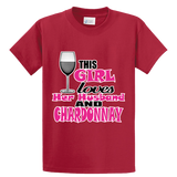 Girl Loves Husband & Chardonnay - Zapbest2  - 3