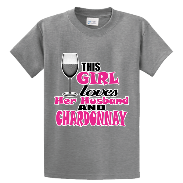 Girl Loves Husband & Chardonnay - Zapbest2  - 5