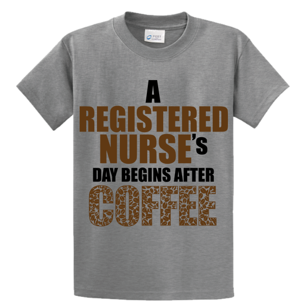 Registered Nurse's Day Begins After Coffee - Zapbest2  - 5