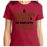Registered Nurse's Day Begins After Coffee - Zapbest2  - 10