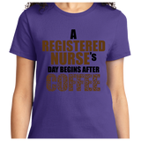 Registered Nurse's Day Begins After Coffee - Zapbest2  - 11