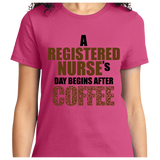 Registered Nurse's Day Begins After Coffee - Zapbest2  - 12