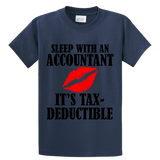 Sleep With An Accountant , Tax-Deductible - Zapbest2  - 2