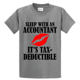 Sleep With An Accountant , Tax-Deductible - Zapbest2  - 3