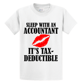Sleep With An Accountant , Tax-Deductible - Zapbest2  - 4