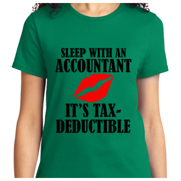 Sleep With An Accountant , Tax-Deductible - Zapbest2  - 7