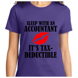 Sleep With An Accountant , Tax-Deductible - Zapbest2  - 8