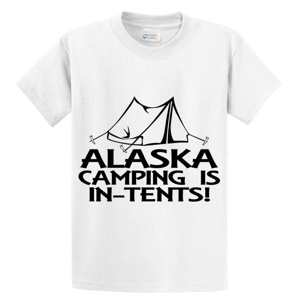 Alaska Camping Is In Tents - Zapbest2  - 1
