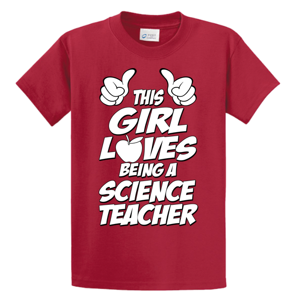 This Girl Loves Being Science Teacher - Zapbest2  - 3