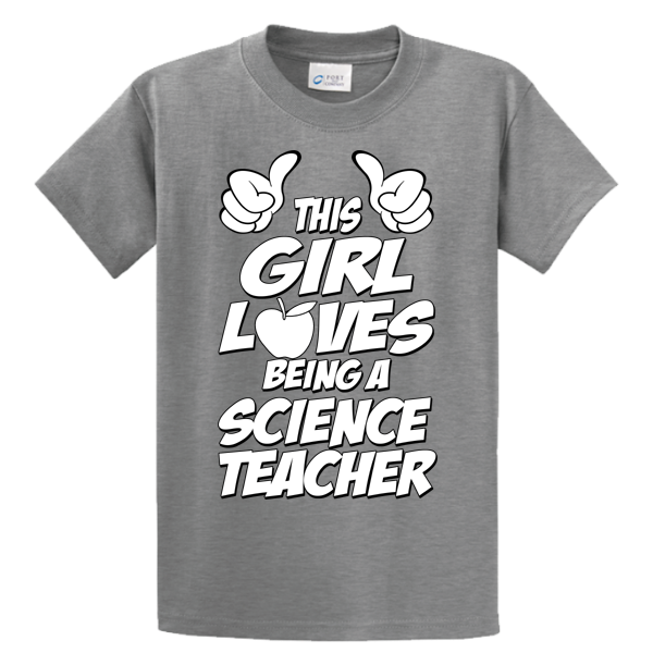 This Girl Loves Being Science Teacher - Zapbest2  - 5