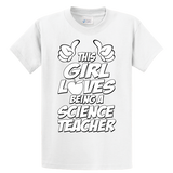 This Girl Loves Being Science Teacher - Zapbest2  - 1