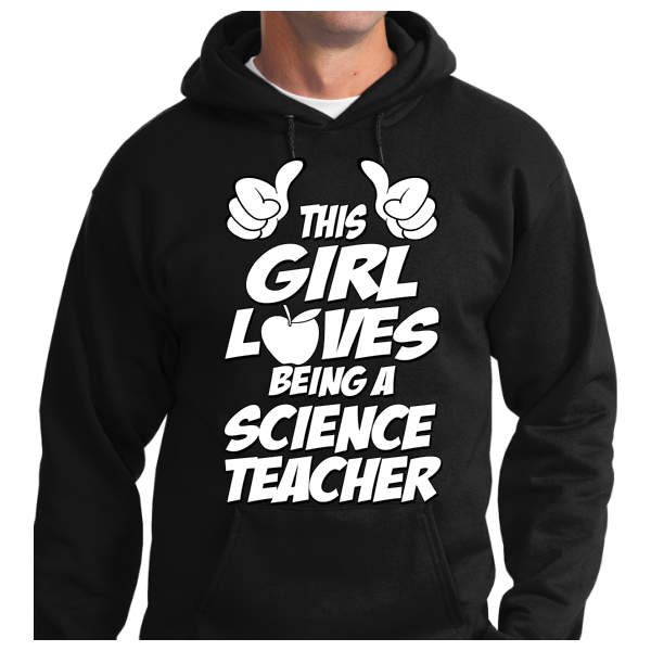 This Girl Loves Being Science Teacher - Zapbest2  - 6