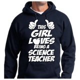 This Girl Loves Being Science Teacher - Zapbest2  - 8