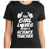 This Girl Loves Being Science Teacher - Zapbest2  - 9