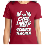 This Girl Loves Being Science Teacher - Zapbest2  - 10