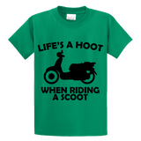 Life's A Hoot When Riding A Scoot - Zapbest2  - 2