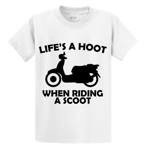 Life's A Hoot When Riding A Scoot - Zapbest2  - 1
