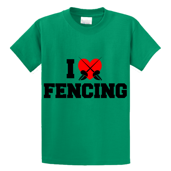 I Love Fencing - Zapbest2  - 2
