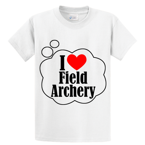 I Love Field Archery - Zapbest2  - 1