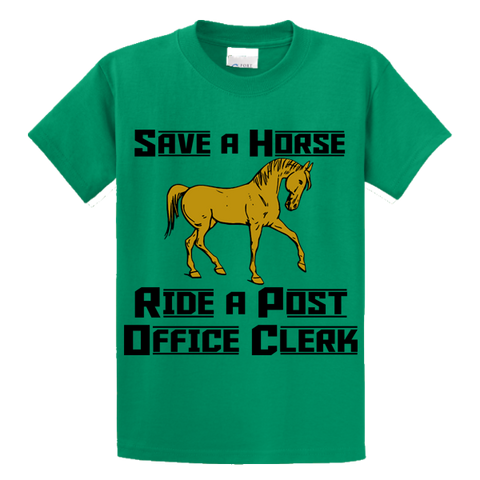 Save A Horse, Ride A Post Office Clerk - Zapbest2  - 2