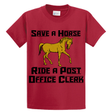 Save A Horse, Ride A Post Office Clerk - Zapbest2  - 3